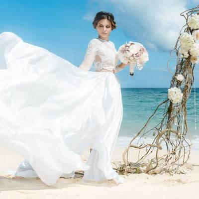 Νυφικα για Καλοκαιρινο Γαμο
